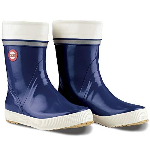 Nokian Footwear  Hai - Wadenhohe Gummistiefel für Damen und Herren, handgefertigt aus Naturkautschukmischung, 38 EU, Blue