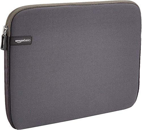 "Amazon Basics NC1506164H - Funda para ordenadores portátiles (13.3""), color gris"
