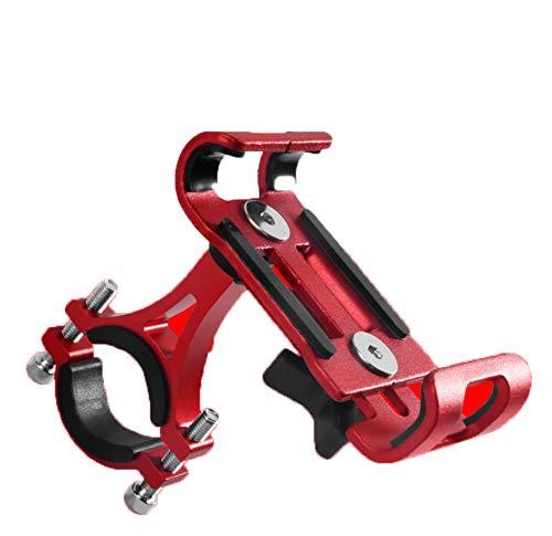 Soporte para teléfono para Bicicleta, Soporte para teléfono móvil para Motocicleta, Soporte Ajustable Desmontable con rotación 360, Soporte para la mayoría de Dispositivos móviles