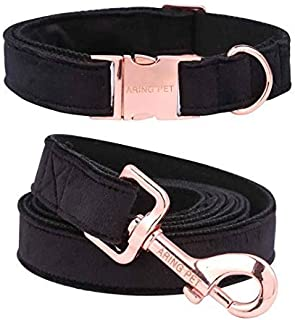 black velvet dog collar