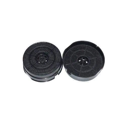 Whirlpool / WPRO (2 St.) Aktivkohlefilter von AllSpares Nyttig Fil 200 / 484000008782 / Typ58