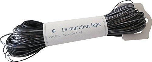 メルヘンアート ラ メルヘン・テープ クラフト 1.5mm col.101 グレー 140g 約60m 1玉