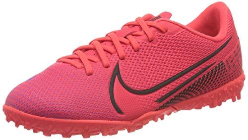 Nike Unisex-Kinder Vapor 13 Academy TF Fußballschuhe, Rot (Laser Crimson/Black-Laser Crim 606), 35 EU