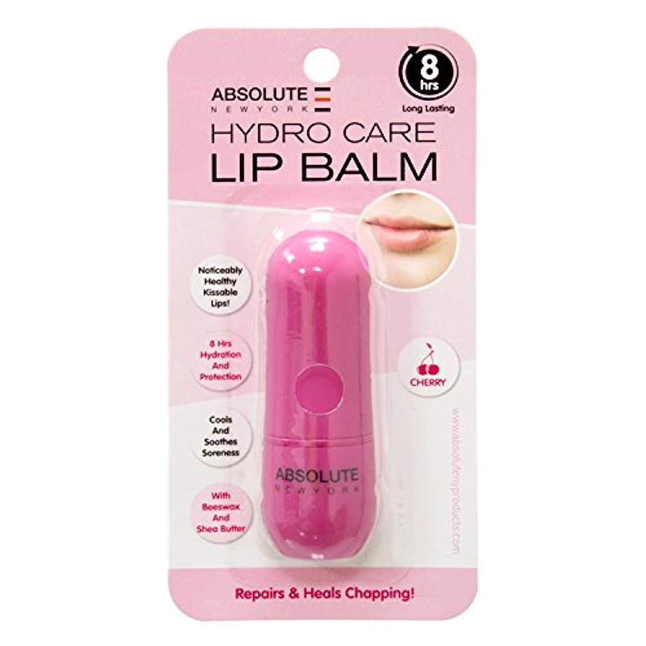 気配りのあるカトリック教徒警報(3 Pack) ABSOLUTE Hydro Care Lip Balm - Cherry (並行輸入品)