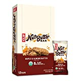 Clif Nut Butter Bar - Organic Snack Bars - Maple Almond Butter Flavor - (1.76 Ounce Protein Snack Bars, 12 Count) (Packaging May Vary)
