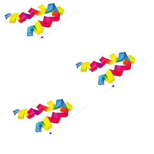 EDUPLAY 130139 - Regenbogen Schwungband, 3 Stück