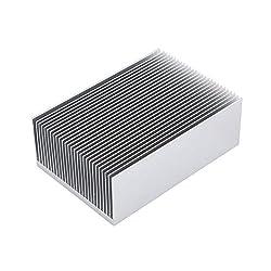 "Awxlumv Large Aluminum Heatsink 15.75"" x2.71"" x 1.41"" / 400 x 69 x 36mm Heat Sinks Cooling 27 Fin Radiator for IC Module, PC Computer, Led, PCB"