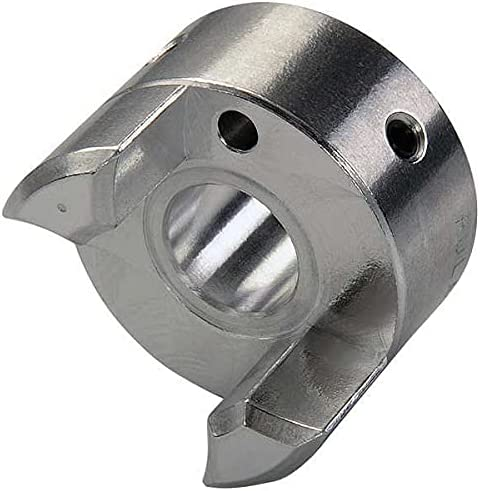 Ruland Manufacturing Jaw Coupling Hub of Pack 3 Aluminum Genuine Free Surprise price Shipping 8in