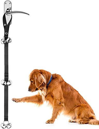Zellar Dog Puppy Türklingeln, Länge verstellbar Loud Dog Puppy Töpfchen WC House Training Türklingeln (1PC)
