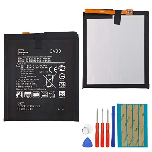 New Replacement Battery GV30 Compatible with Motorola Z Droid XT1650-01/03/05 2630mAh 3.8V + Tools