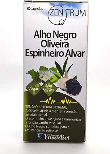 Ajo Negro en Cápsulas |Aumenta Tús Defensas | Ajo Negro – Olivo –Espino Blanco | Ayuda a...