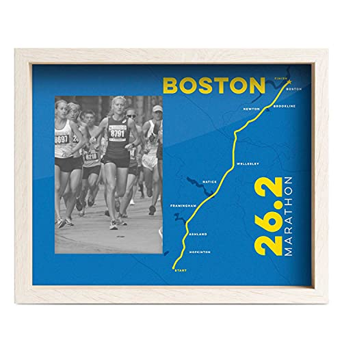 Gone For a Run Premier Running Photo Frame | Boston 26.2 Marathon