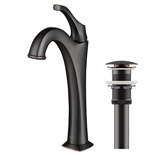 Cheapest Price! Kraus KVF-1200ORB Arlo Bathroom Faucet, 12.13, Oil Rubbed Bronze