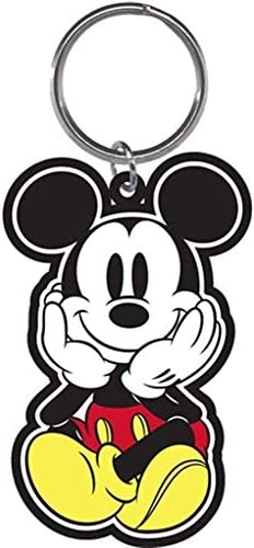 Disney Mickey Mouse Face in Palms Keychain product image