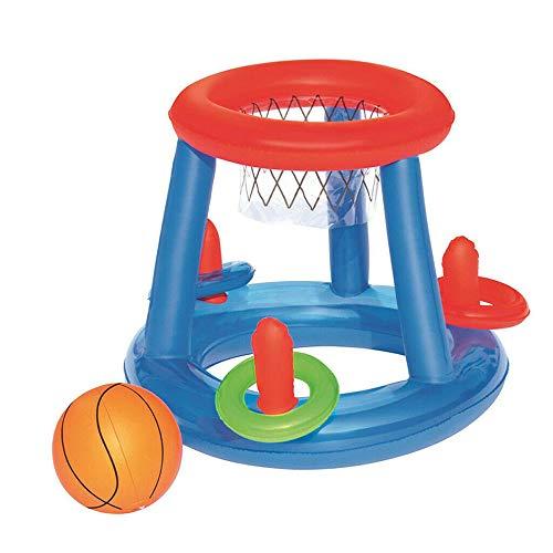 JDV Barley33 Wasserspielzeug Basketball Hoop Pool Float Aufblasbares Spiel Schwimmbad Wassersport Toy Pool Floating Toys