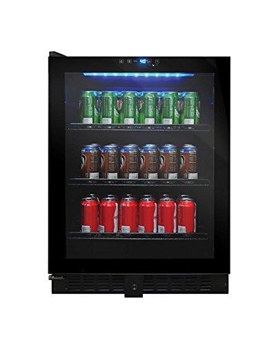 Vinotemp VT-54 Touch Screen Beverage Cooler, Black
