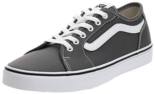 Vans Herren Filmore Decon Sneaker, Grau ((Canvas) Pewter/White 4Wv), 43 EU