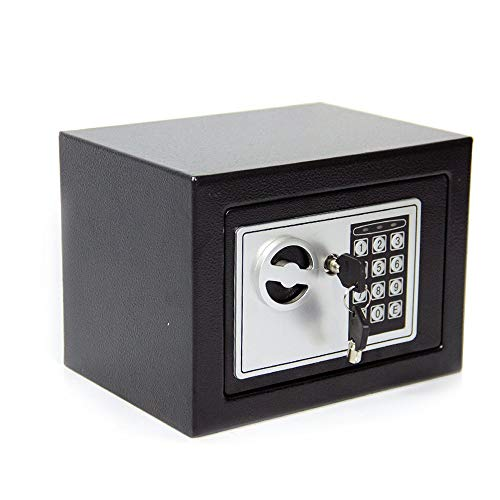 CDC® 4.6L DIGITAL STEEL SAFE ELECTRONIC SECURITY HOME OFFICE MONEY CASH...