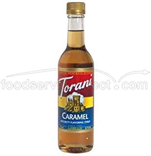 Torani Caramel Coffee Syrup Mix, 12.5 Ounce -- 6 per case. by Torani
