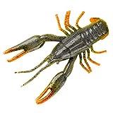 Yum Lures YCRB206 Craw Bug Fishing Bait, Crawdad, 2.5'