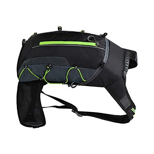 Samine West Biking Sac à dos de vélo imperméable respirant ultraléger Vert 10 l