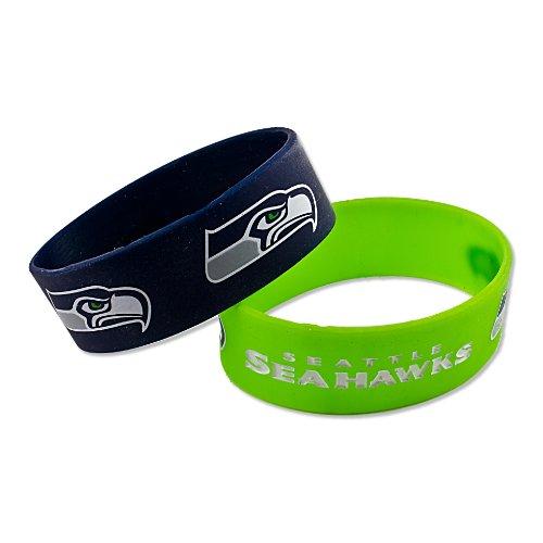 NFL Arizona Cardinals Silikon-Armband, Teamfarben, Seattle Seahawks
