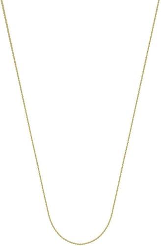 barato y de alta calidad 14ct oro amarillo 0,9mm Collar de cadena de Cable cierre cierre cierre de pinza de langosta opciones de lungoitud  41465161  precio razonable