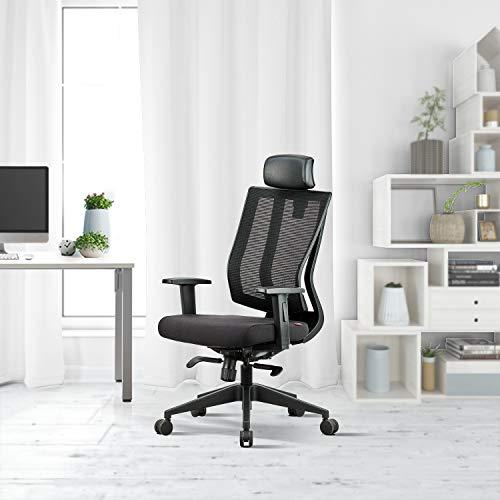 Featherlite Fabric Modern Liberate High Back Ergonomic Chair