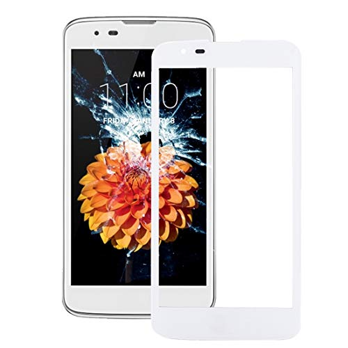 Dmtrab Front Screen Outer Glass Lens for LG K7 / MS330 Repair Parts (Color : White)