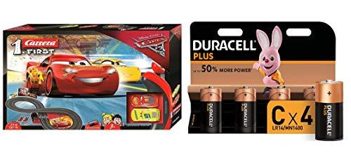 Disney Pixar Cars Carrera First con Duracell LR14...
