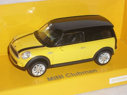 rastar Mini Cooper S Clubman Gelb 1/43 Modell Auto Modellauto