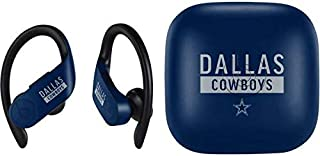 Skinit Decal Audio Skin for PowerBeats Pro - Officially Licensed NFL Dallas Cowboys Blue Performance Series Design
