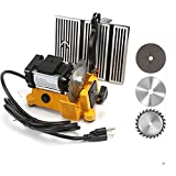 4' 60W Mini Table Saw Top Cut Off Miter Saw for Precision Cut Metal Wood Frame Molding