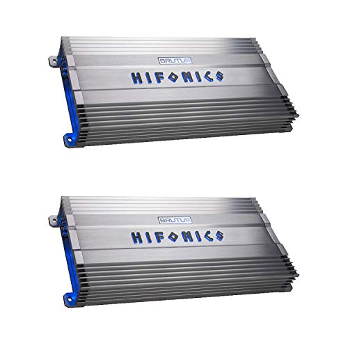 For Sale! Hifonics BG-1600.4 Brutus Gamma 4 Channel 1600W Car Audio Subwoofer Amplifier (2 Pack)
