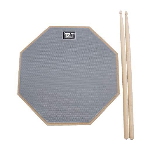 Übungspad Trommelpad Practice Pad 12 Zoll mit 5A Drumsticks