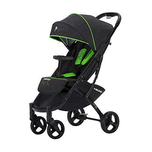 knorr-baby 888120 Head Buggy, darkgrey-green, grau