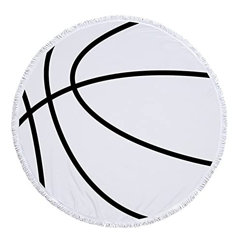 YUANCHENG Bola de Gran tamaño Toalla de Playa Baloncesto Voleibol Decoración del hogar Manta Béisbol Fútbol Viajes Deportes Camping Estera de Camping
