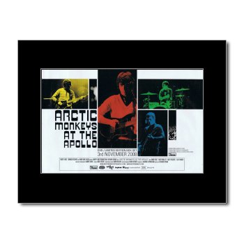 ARCTIC MONKEYS - At The Apollo Matted Mini Poster - 21x13.5cm