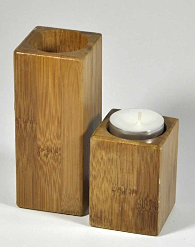 Teelichthalter Bambus …