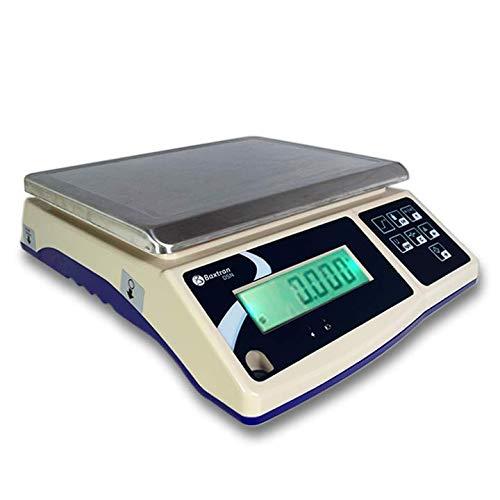 Balance industrielle robuste Baxtran DSN de 3 kg à 30 kg, avec batterie interne (30 kg x 1 g).