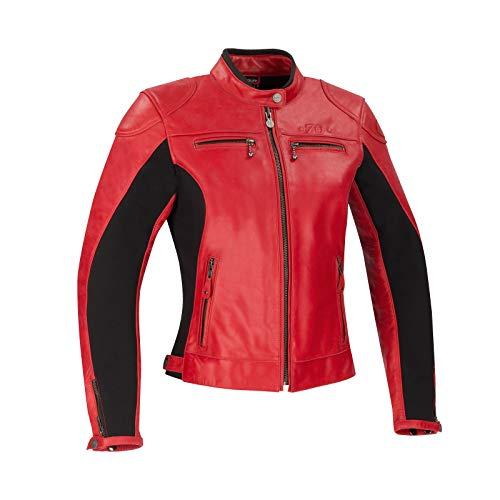 Segura Chaqueta moto LADY KROFT Rojo, Rojo, 42 (T3)