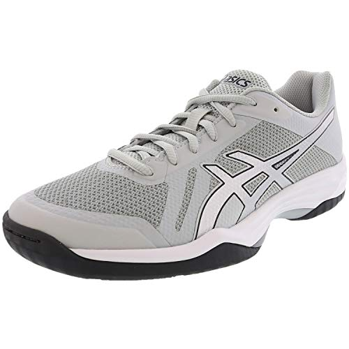 ASICS Women's Gel-Tactic 2 Volleyball Shoe, Glacier Grey/Silver/Dark Grey, 10 Medium US