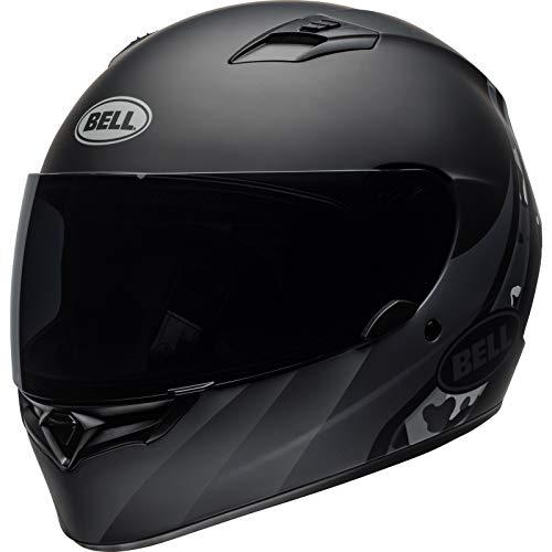 Bell Street 2019 Qualifier STD Helm für Erwachsene, matt-schwarz-titan-camouflage, Größe XS