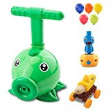 Maikerry Balloon Powered Car with Pea Shooter Pump, Air Balloon Launcher Powered Car Toy Set, Plants vs Zombies Toys for Kids Party, Birthday