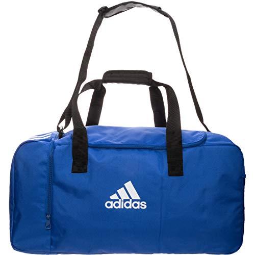 adidas Tiro, Borsone Unisex – Adulto, Bold Blue/White, Tagia Unica