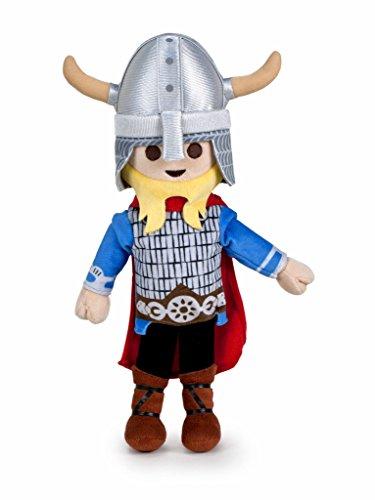 Famosa Softies - Playmobil Peluche 30 cm Vikingo, 1 (