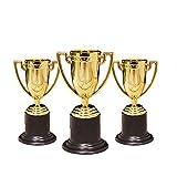 EnweKapu Medallas Niños Trofeo, Trofeos Deportivos, Material Plástico, Diseñado para Niños, Adecuado para Diversas Actividades Y Competiciones Infantiles,Plata