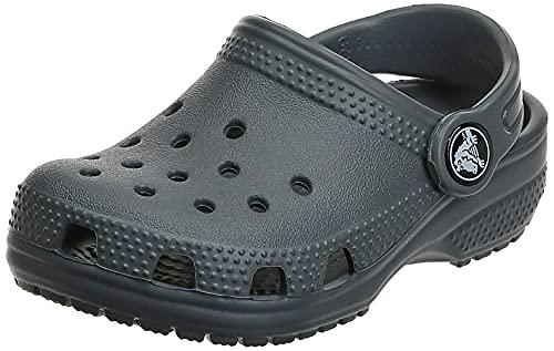 Crocs Kids' Classic Clog , Slate Grey, 13 Little Kid