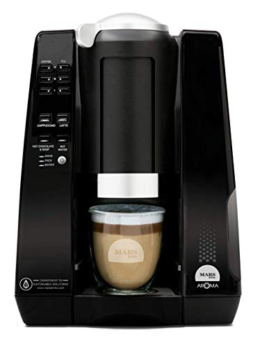 Mars Drinks Aroma Commercial Single-Serve Coffee Brewer & Cafe Beverage Creator, Compatible with Flavia Alterra Freshpacks