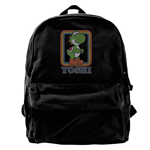Yuanmeiju Canvas Rucksack Yoshi Rucksack, Travel Notebook Bag.